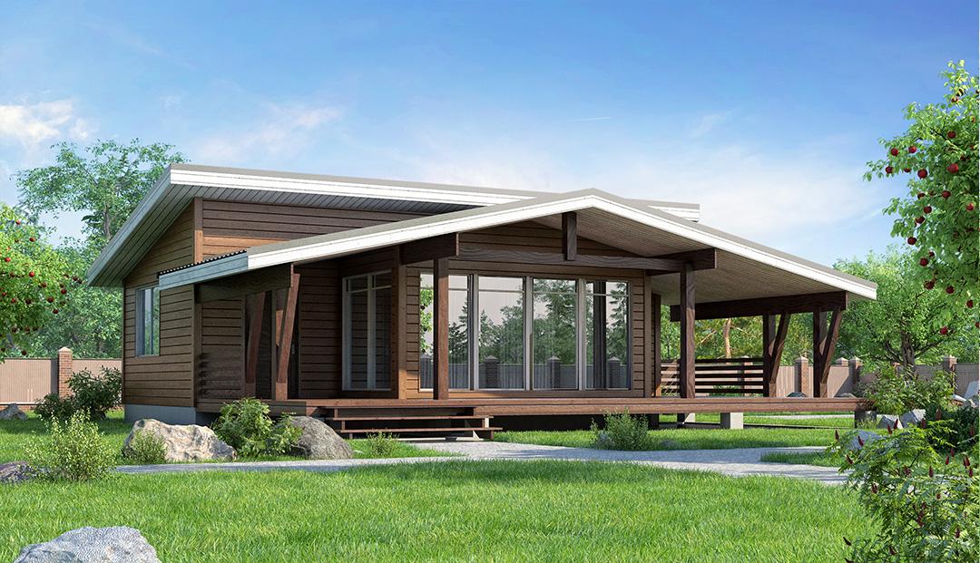 Примеры домов из бруса проекты и цены