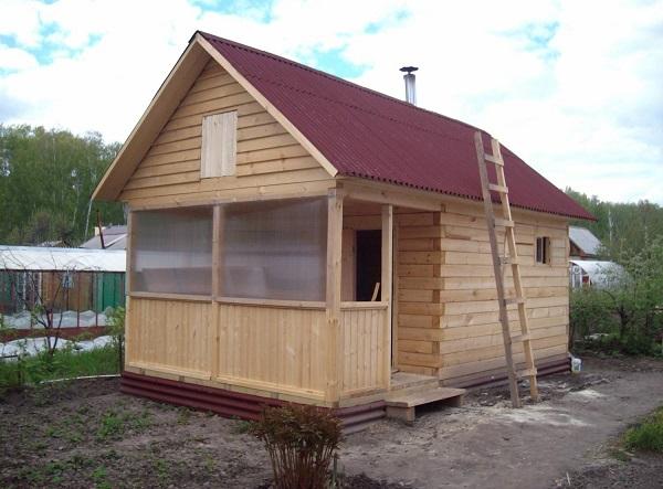 современный и стильный каркасный дом