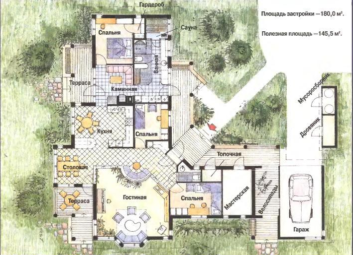 Концепция проекта построить загородный дом