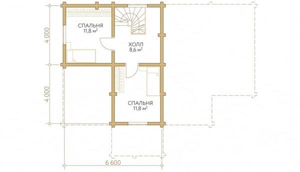 Проект - 2 дом 8х12,8 от 1 800 000 руб