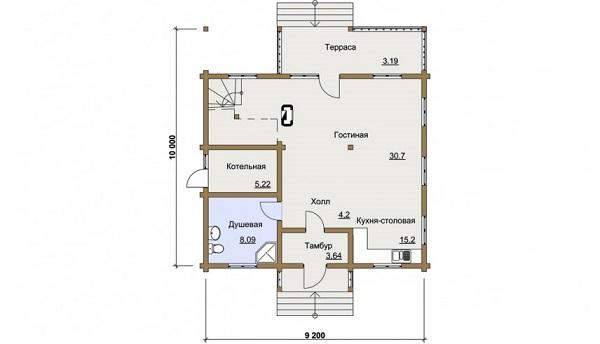 Проект дом 9,2х10 от 1 660 000 руб
