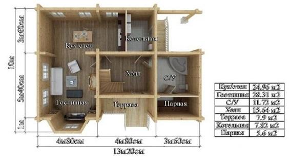 Проект дом 10х13,2 от 2 300 000 руб