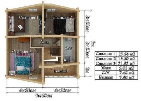 Проект - 2 дом 10х13,2 от 2 300 000 руб