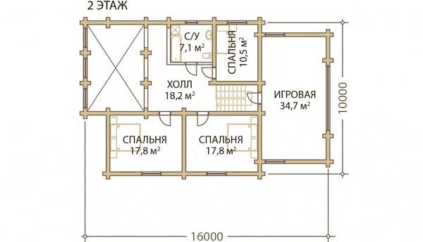 Проект - 2 дом 12х18 от 3 900 000 руб
