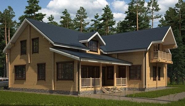 Примеры каркасные дома