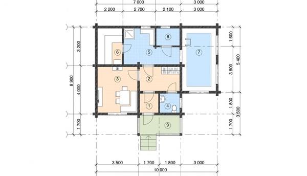 Проект дом 7,2х10 от 640 000 руб